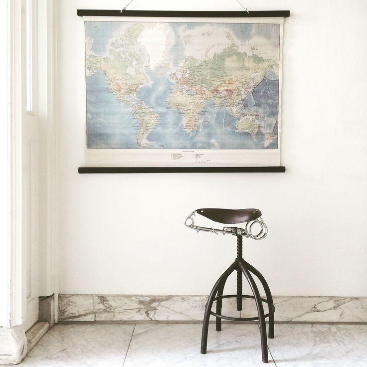 #worldmap | Image via Instagram @laifennuver