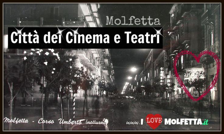 Molfetta, in Puglia, la città dei cinema a città senza cinema e senza teatro comunale.   Rimbalza sempre più la notizia della chiusura del Cinema Teatro Odeon, ultimo cinema rimasto aperto in città   A partire dal 1904 sono stati ben diciannove i cinema che hanno aperto. Diciotto si sono persi per strada. L'ultimo, l'Odeon, sta morendo sotto gli occhi di tutti. http://www.ilovemolfetta.it/content/news_zoom.asp?lan=ita&id_news=4590