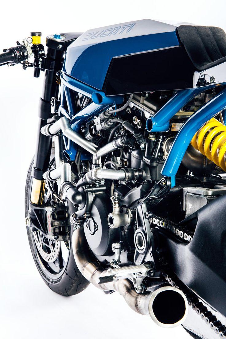 クラシック好きのスイス人がドゥカティ「モンスター1200R」でレーサーを作るとこうなる! : ForRide(フォーライド)
