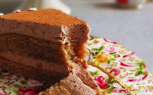 Шоколадно-муссовый торт | Кулинарные рецепты от «Едим дома!»