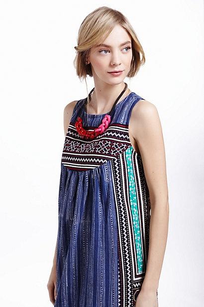 inoke batik dress from anthropologie