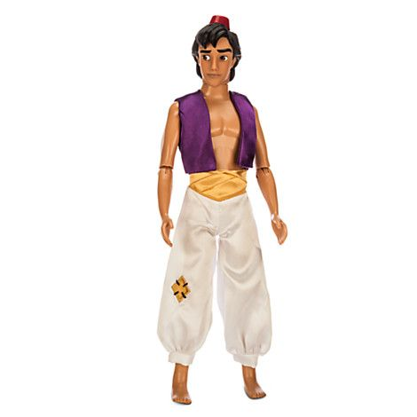 [Diamond in the rough]Turn playtime into a fairytale with our Classic Aladdin Doll. Some may think he's a street rat, but we know it's what's inside…
