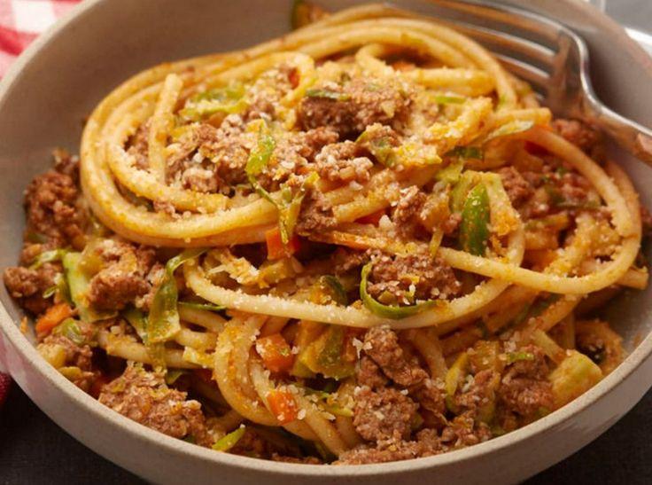 Bucatini Pasta Bolognese Recipe