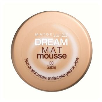 Dream Mat Mousse - Gemey Maybelline. Teinte 30 Sable.