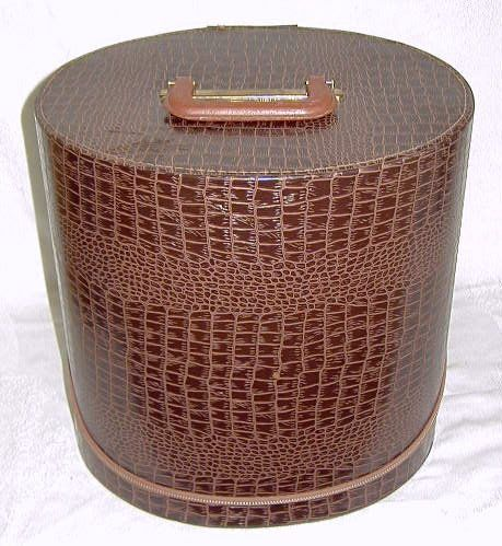Vintage hat box.