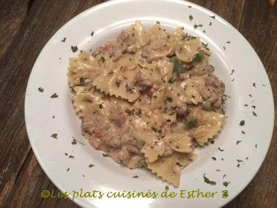 Les plats cuisinés de Esther B: Boucles à la milanaise