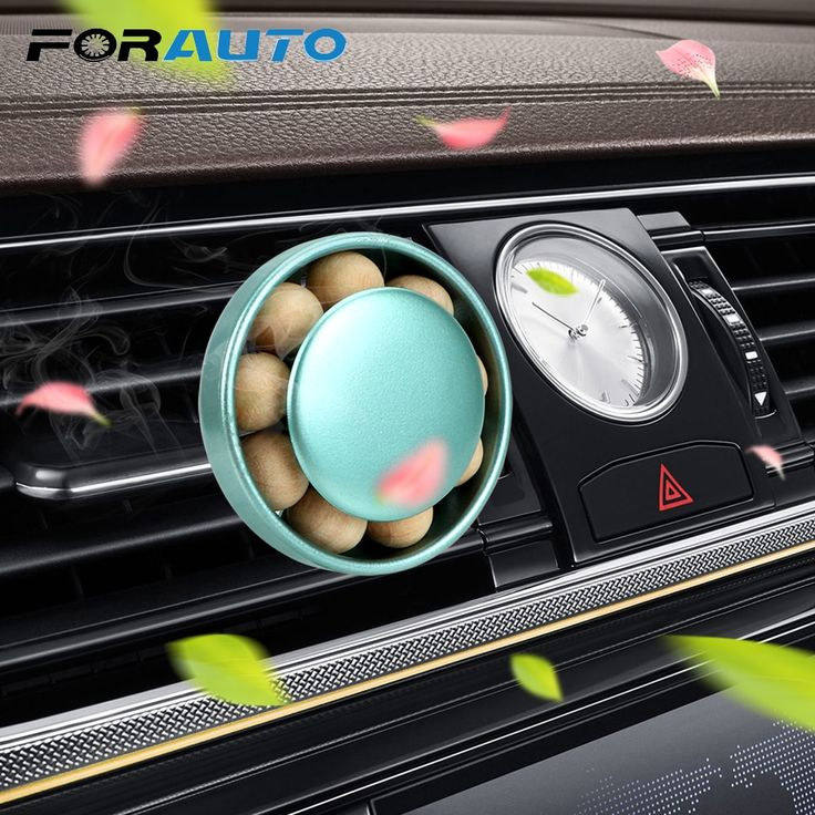 FORAUTO Car Air Freshener Car Outlet Perfume Air