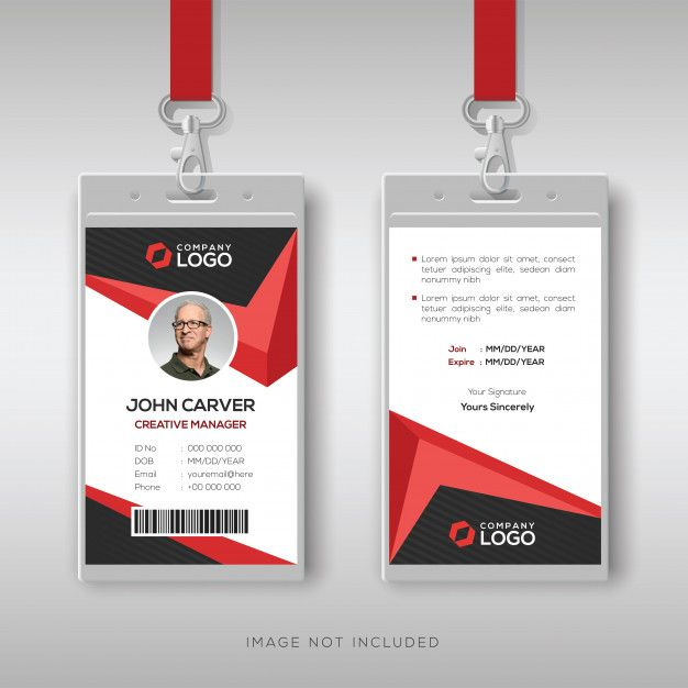 Id Card Template Create Business Cards Id Card Template Free Printable Business Cards