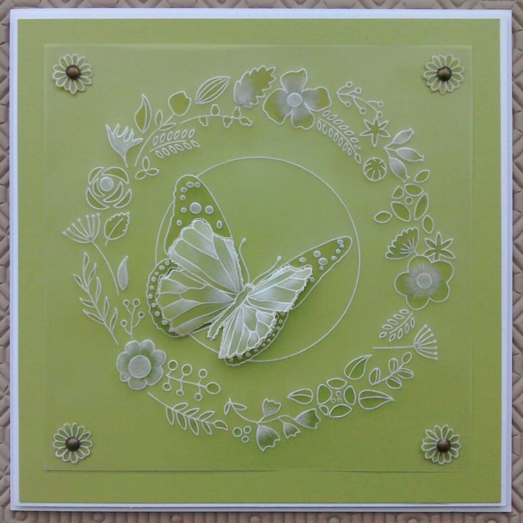 Groovi Plates card - by Lynne Lee