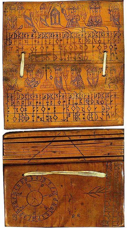 Runic Calendar on Ivory, Sweden c. 1500