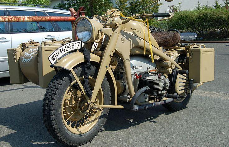 Las motos de la Wehrmacht