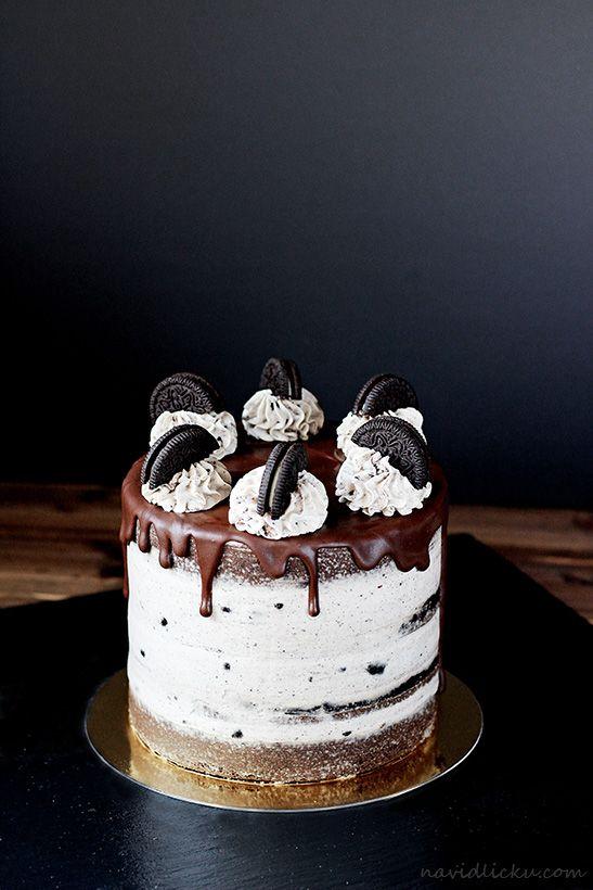 Oreo Cake / Oreo dort | Na vidličku food blog