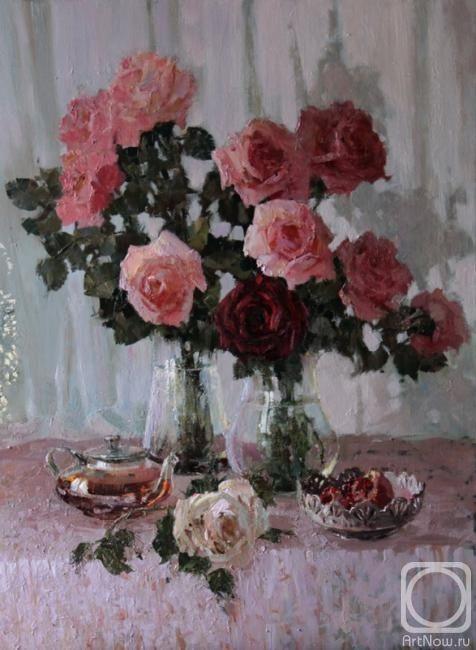 Кукуева Светлана. Розовый чай