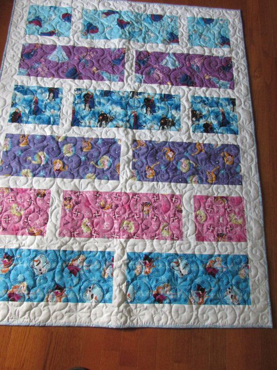 Disney Frozen Quilt by PeachesandCreme on Etsy
