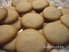 Hanna-tädin keksit (maidoton, munaton, soijaton, luontaisesti gluteeniton)