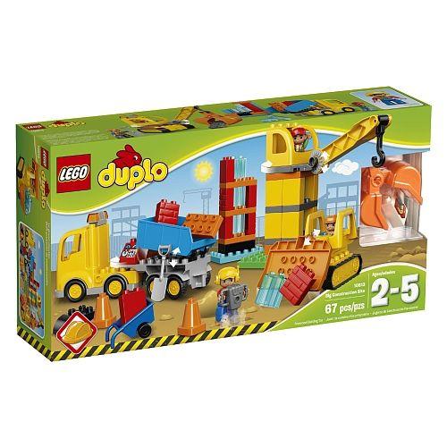 """Site d'entreprise Toys""""R""""Us - LEGO DUPLO Le grand chantier 10813"""