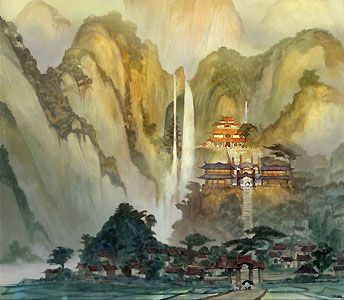 kung fu panda concept art - Google Search