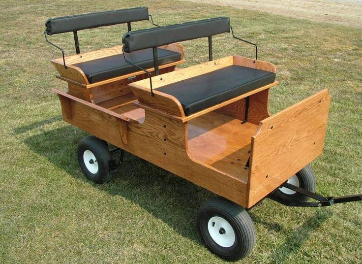 4 wheel cob size driving cart - Google Search