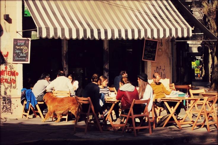 French Café in Palermo, Buenos Aires © Frau Fuchs
