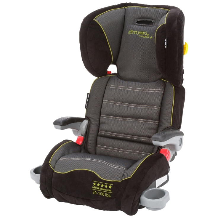 Graco Backless Turbobooster Car Seat Jeweled Princess