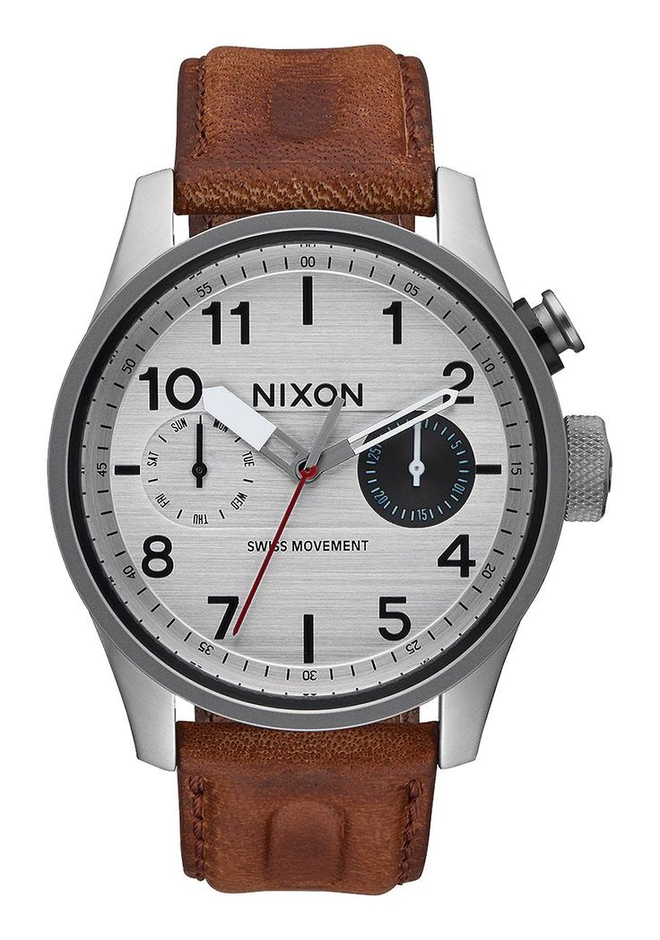 Safari Deluxe Leather | Men's Watches | Nixon Watches and Premium Accessories
