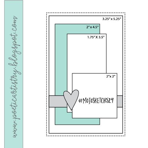 Mojo Monday 529 in 2020 Card sketches templates, Card