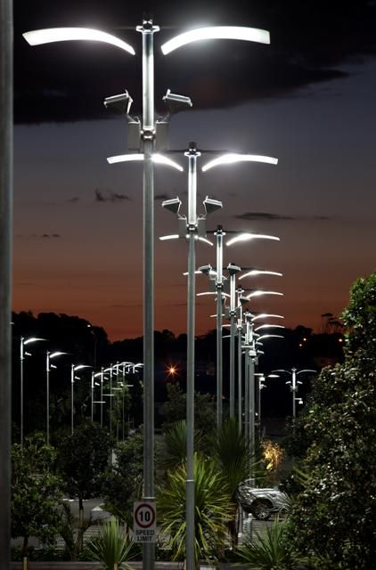 Eden Park in Auckland, New Zealand. Lighting products: iGuzzini illuminazione - Photographed by Simone Devitt.   #iGuzzini #Light #Lighting #experience