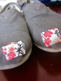 Toms patch-up repair