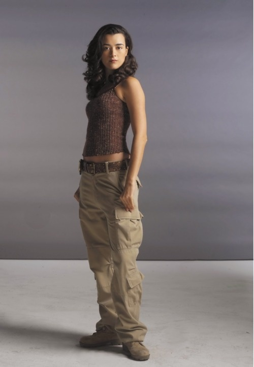 Cote de Pablo, NCIS would make a kick ass Anita Blake!