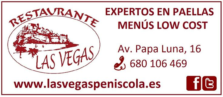 Expertos en Paellas - Menús Low Cost - Restaurante Las Vegas Peñiscola (SPAIN) by ExpertosenPaellas.com