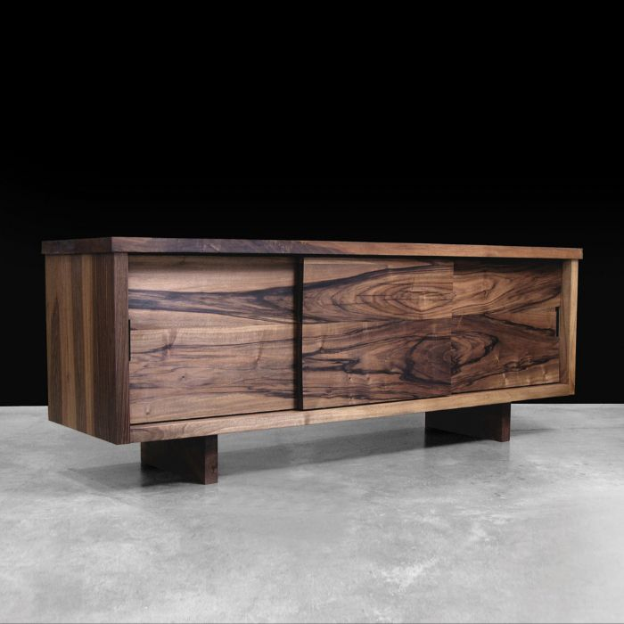 Hudson Furniture Sliding Door Console Modern Solid Wood Furniture From  Hudsonu2026