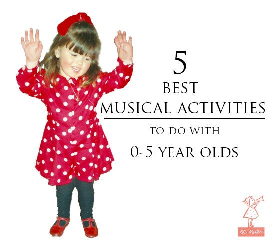Let's Play Music: 5 Best Musical Activities to do with 0-5 year olds at home!