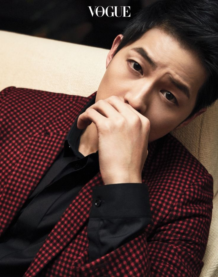 Song Joong Ki | Vogue Magazine June Issue '16