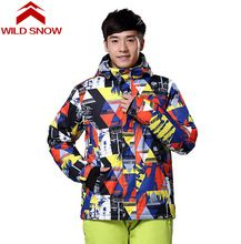 US $65.99 WildSnow Women Winter Coat Ski Jacket Men Snowboard Jackets Ski Clothing Snow Clothes Mountain Skiing Windproof Suit. Aliexpress product