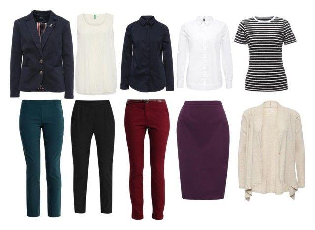 Базовый гардероб 2 by lokidar on Polyvore featuring мода, Vero Moda and Benetton