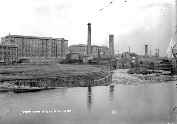 King's Mill Lane, 1910. Source: Kirklees Image Archive