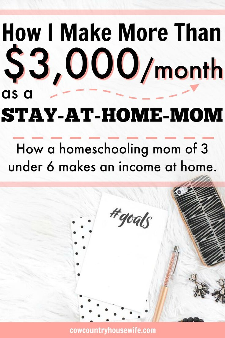 These are so great! She makes a full-time income from home as a stay at home mom while homeschooling her kids. She shares how to earn money as a stay-at-home mom of 3. She makes money from home with her kids. Stay at home moms can make money and here's th