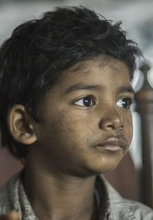 This face - this child Sunny Pawar. Ahhh could he be more adorable? no. the answer is no.
