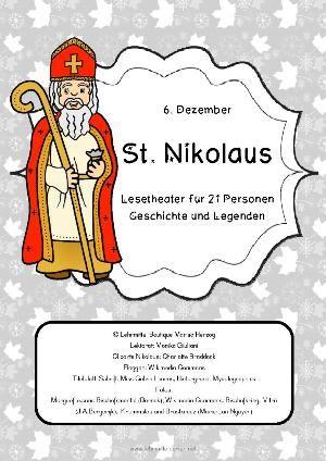 Sankt Nikolaus: Lesetheater, Geschichte, Legenden