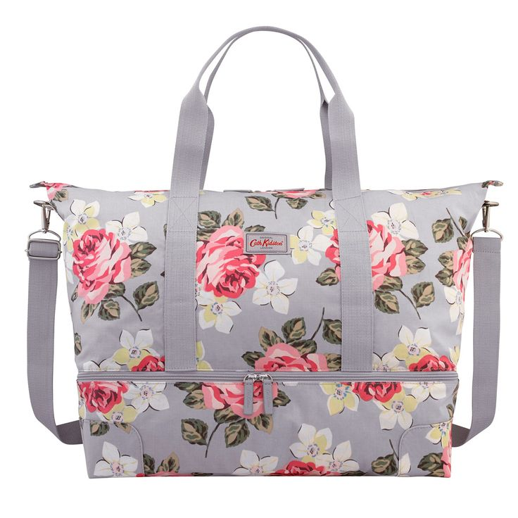 Richmond Rose Double Decker Travel Bag | Cath Kidston |