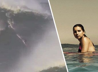 The relationship between big wave surfing tow partners Maya Gabeira and Carlos Burle requires death-defying rescues in giant surf and a singular trust.