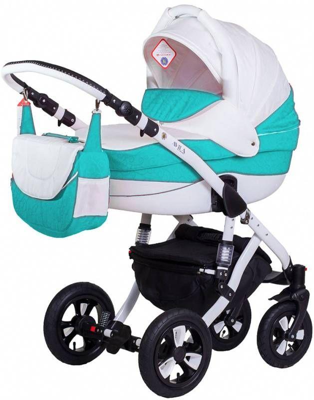 Детская коляска Adamex 2в1 Avila 917G  Цена: 280 USD  Артикул: TW6725  Детская коляска Adamex 2в1 Avila – новинка 2015 года. Легкая алюминиевая рама с двойным амортизатором, накачиваемые колеса, два из которых поворотные, обеспечивают комфорт передвижения по любому покрытию. Благодаря применению адаптера типа click-clack можно легко и быстро менять модули. Модель отличается современным и элегантным дизайном. Люльку и прогулочный блок можно установить лицом или спиной по направлению движения…