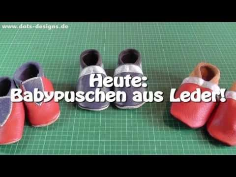 DIY | Babypuschen selber nähen | Nähen für Anfänger | Tutorial - YouTube