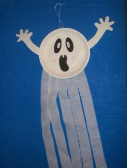 This cute ghost is a great Halloween decoration. It is very simple and easy to make. I let my 2 year old and 5 year old make some this year and...