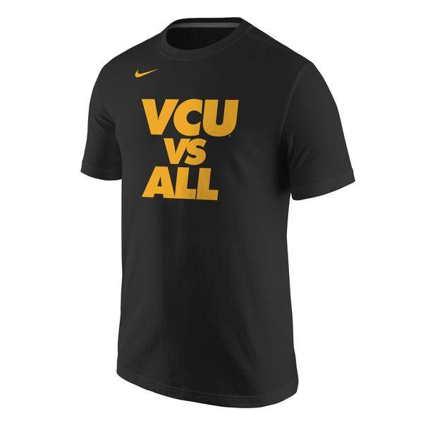 VCU Rams Nike Selection Sunday All T-Shirt - Black - $25.99