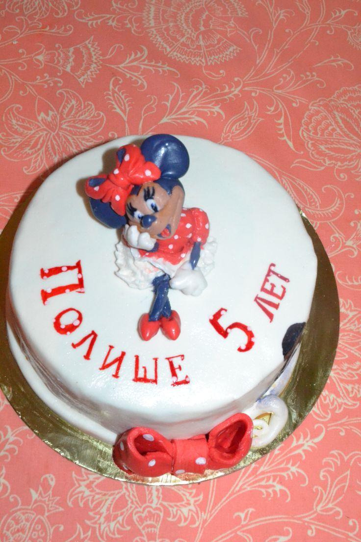 Торт Минни маус Витебск Minni mouse cake #тортминнимаус