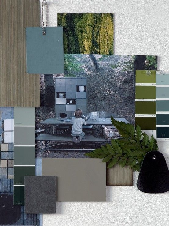 Design Mood board - 3D Moodboard - Loods 5 styling