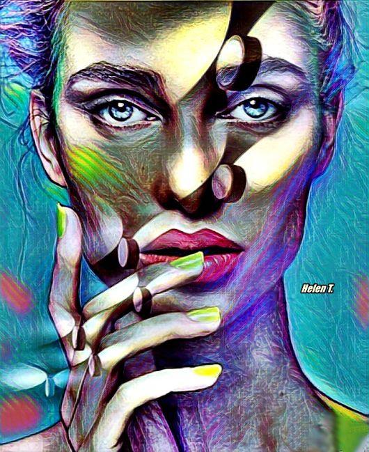 Dream mirror Digital art by Helena T.