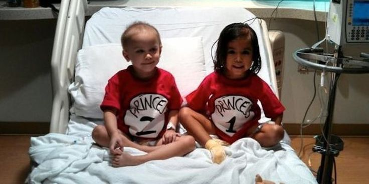 How Two Little Girls Became Friends While Being Treated For Cancer