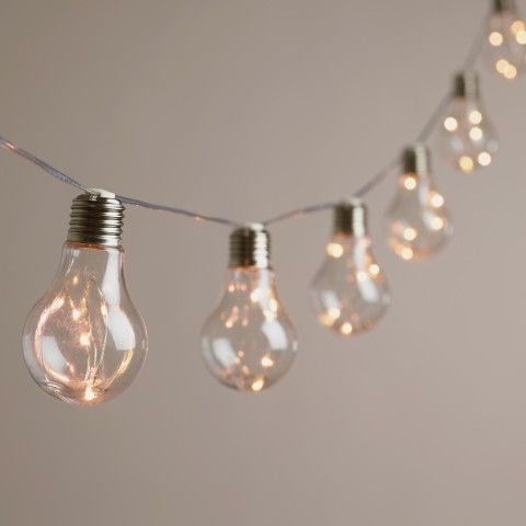 We have an idea! How about some Edison Firefly String Lights for your room?